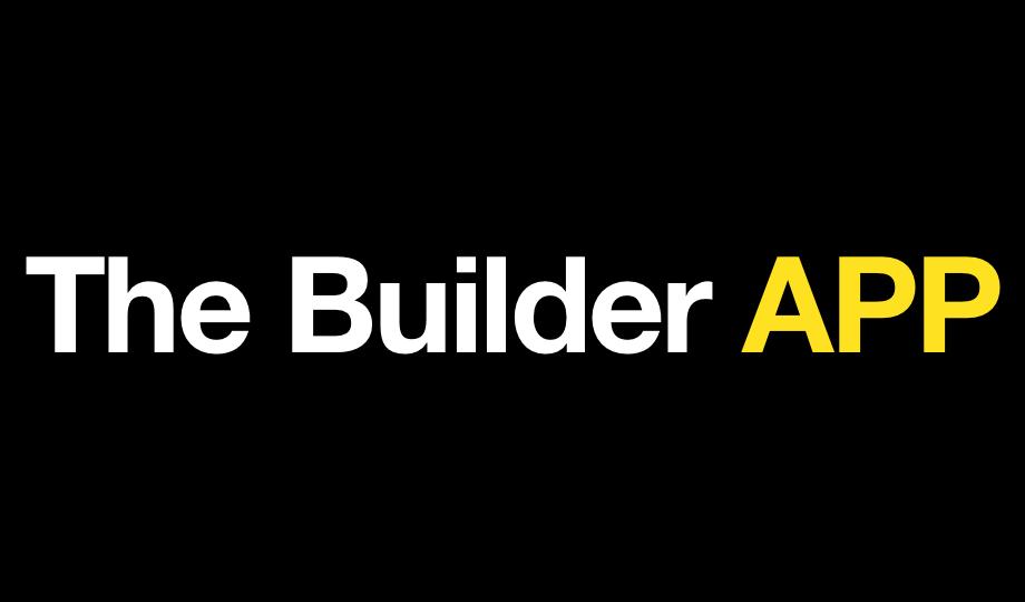 The builder app bg logo 2x