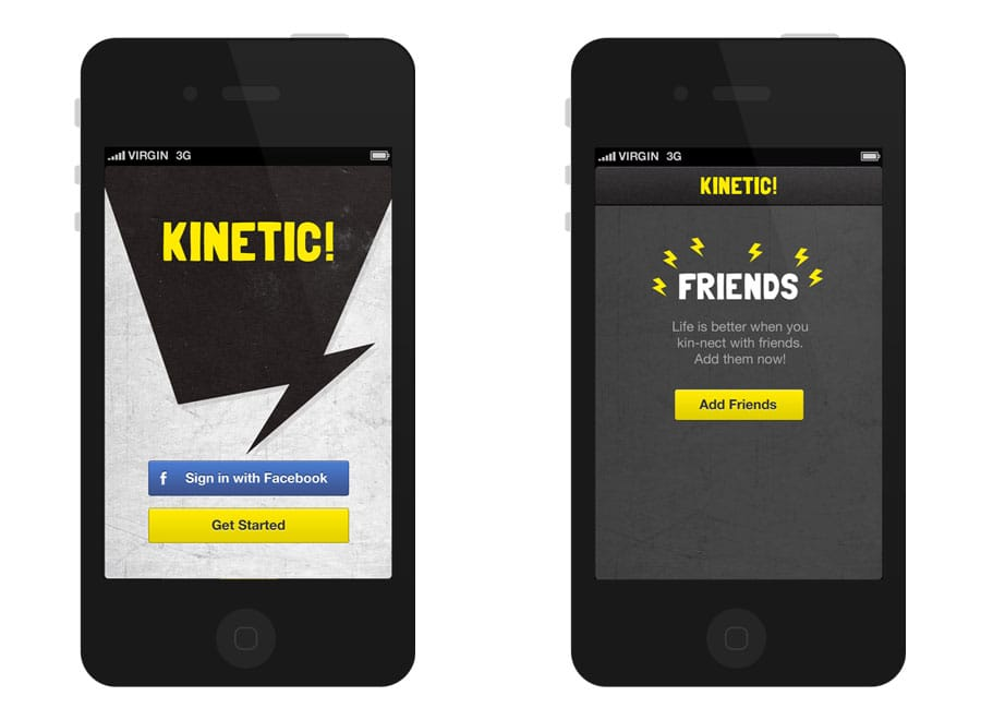 sign in to kinetic iphone app developed by sentia
